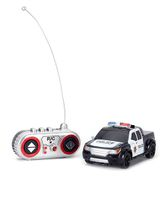 Remote Controlled Police Car - Black White