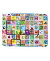 Smiles Creation Play Mat Numbers And Alphabets Print -Multicolor