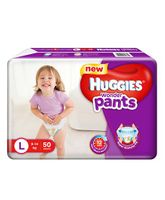 Huggies Wonder Pants Large Size Pant Style Diapers - 50 Pieces