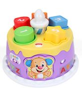 Fisher Price Musical Birthday Cake Toy - Multicolor
