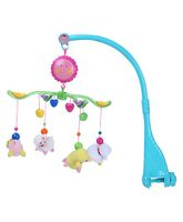 Musical Cot Mobile Animal Toy - Blue