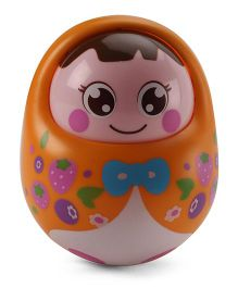 Sunny Tumbler Roly Poly Doll - Orange