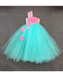 WhiteHenz Clothing Little Princess Flaired Dress - Sea Green