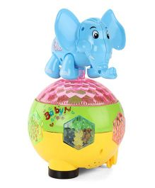 Smart Picks Musical Toy Elephant - Blue Yellow