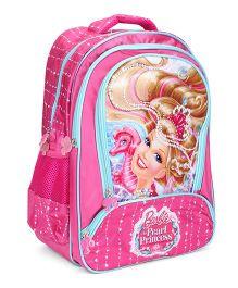 Barbie The Pearl Princess School Bag Pink - 16 Inch