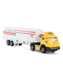 Playmate Toy Tanker - White Yellow