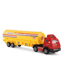 Playmate Toy Tanker - Yellow Red
