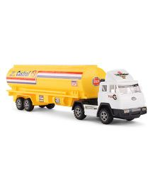 Playmate Toy Tanker - Yellow White