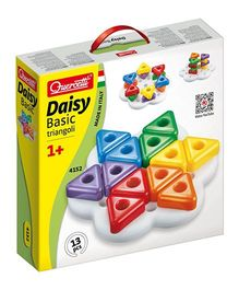 Quercetti Geokid Pastel Tris Multi Color - 13  Pieces