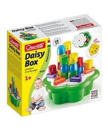 Quercetti Daisy Box Multi Color - 28 Pieces