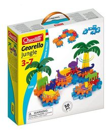 Quercetti Jungle Gears Multi Color - 50 Pieces