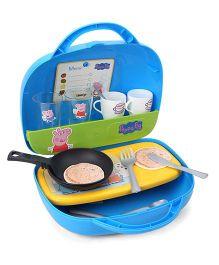 Smoby Peppa Pig Mini Kitchen Set - Blue