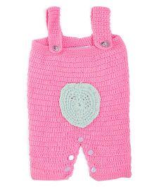 Rich Handknits Winter Wear Romper - Pink