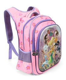 Disney Fairies Kids School Bag Pink - 17 inches