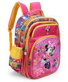 Disney Minnie Kids School Bag Pink - 15 inches