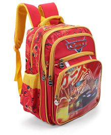 Disney Cars Kids School Bag Red - 15 inches