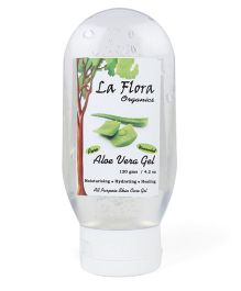 La Flora Organics Aloevera All Purpose Gel - 120 Grams