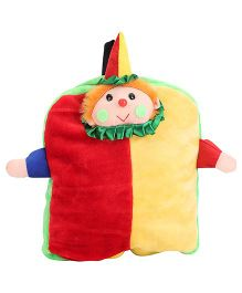 Tickles Joker School Bag Red And Yellow