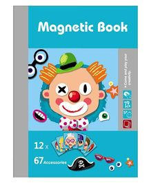 Kreative Box Magnetic Book Puzzle Multicolor - 79 Pieces