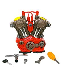 Kreative Box My First Motor Engine - Red