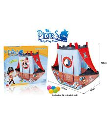 Kreative Box Pirate Ship Play Tent - Multicolor