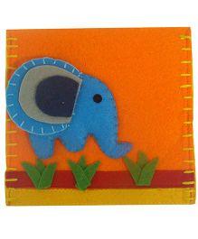 Oyster Kids Envelopes Elephant In The Jungle - Orange