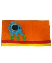 Oyster Kids Elephant Envelope - Orange