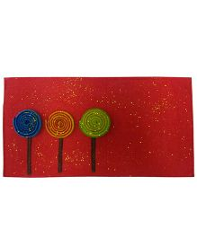 Oyster Kids Lollipop Envelope - Red
