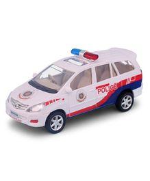 Centy Innova Police Car - White