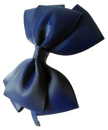 Keira's Pretties Bow Hairband - Navy