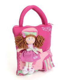 Hamleys Rosie Ragdoll Handbag - Pink