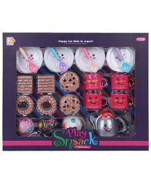 Comdaq Cookies And Tea Food Snack Set Multicolor - 22 Pieces