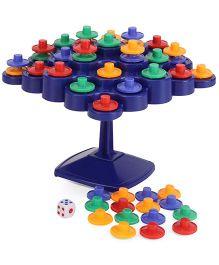 Hamleys Comdaq Topple Travel Game Set Multicolor - 48 Pieces