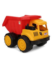 Comdaq Dump Truck Toy - Yellow And Red