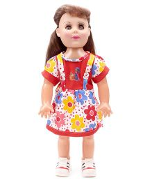 Speedage Doll With Floral Outfit Red - 18 Inches