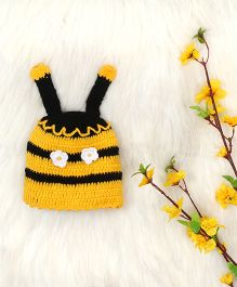 The Original Knit Bumblebee Knitted Cap - Yellow & Black