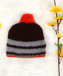 The Original Knit Knitted Cap - Brown