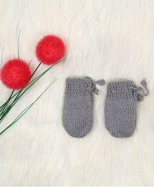 The Original Knit Pretty Mittens - Grey