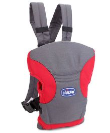 Chicco Go Baby 2 Way Carrier - Red And Grey