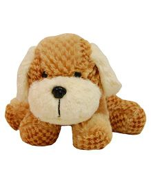 Surbhi Dog Soft Toy Brown - 10 cm