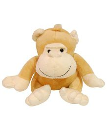 Surbhi Monkey Soft Toy Brown - 20 cm