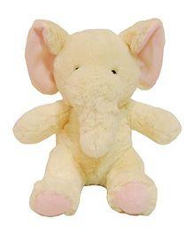 Surbhi Elephant Soft Toy Light Brown - 23 cm