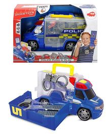 Dickie Police Squad Push & Play - Blue