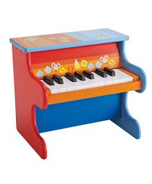 Sevi Wooden Piano - Red & Blue