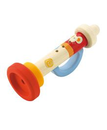 Sevi Wooden Trumpet - Multicolor