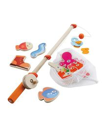 Sevi Wooden Fisherman Set Multicolor - 12 Pieces