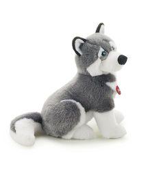 Trudi Husky Marcus Doggy Soft Toy Grey & White - 45 cm