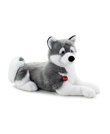 Trudi Husky Marcus Doggy Soft Toy Grey & White - 60 cm