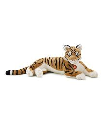 Trudi Tiger Sasha Soft Toy Yellow & White - 57 cm