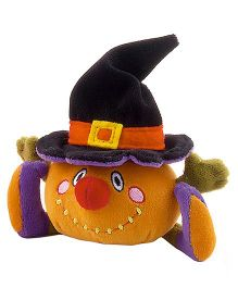 Trudi Sw Col Pumpkin Halloween Soft Toy - Multicolor